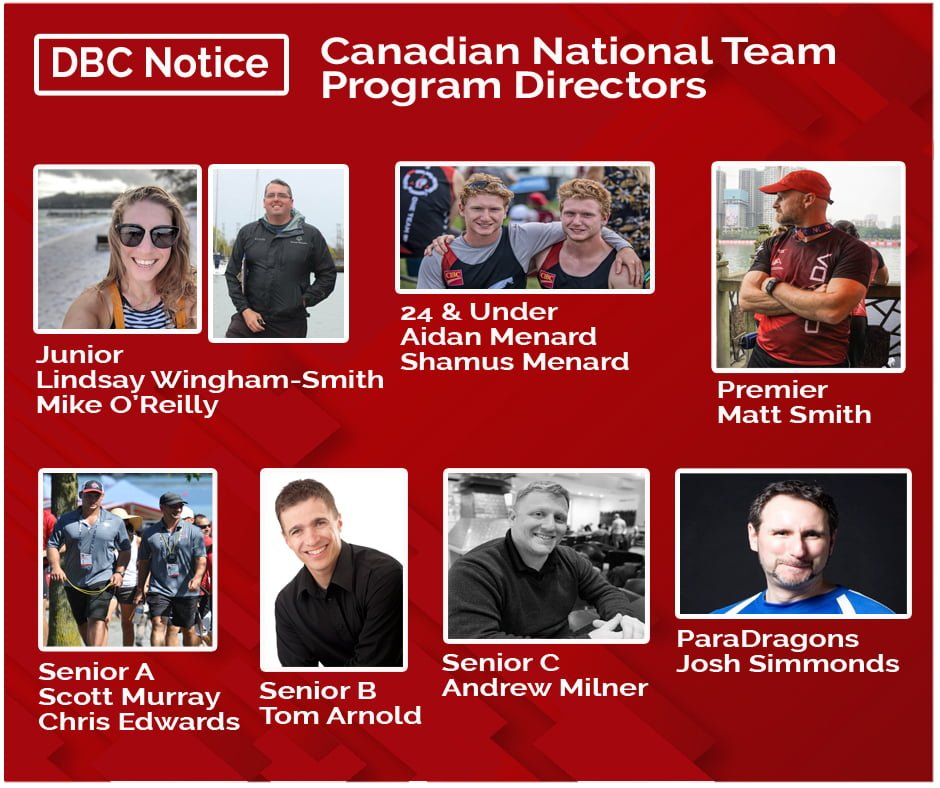 DBC National Team Program Directors